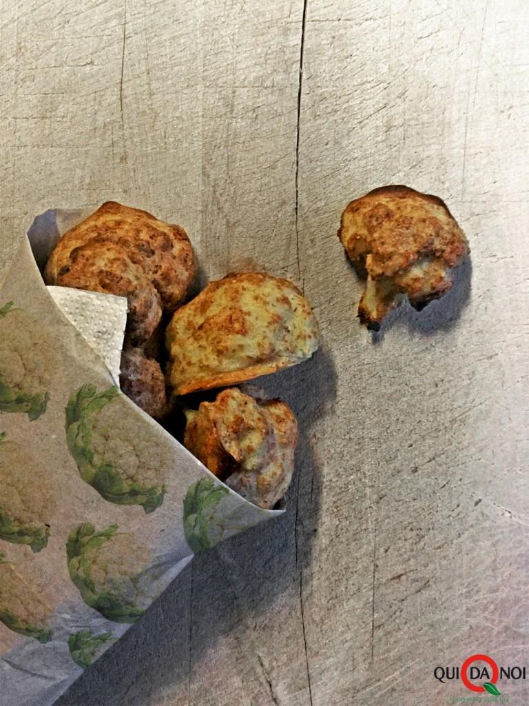 Cartocci di cavolfiore al forno in pastella integrale_Paola Uberti