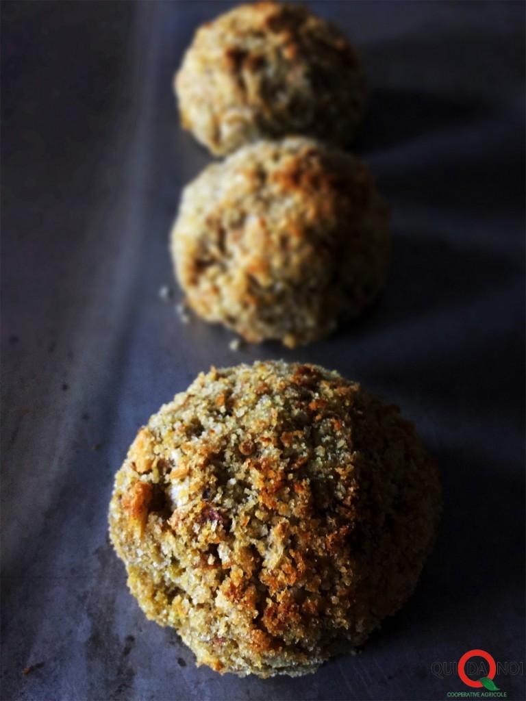 Cupolette extramorbide di cavolfiore e zucca con paté d'oliva taggiasca_Paola Uberti