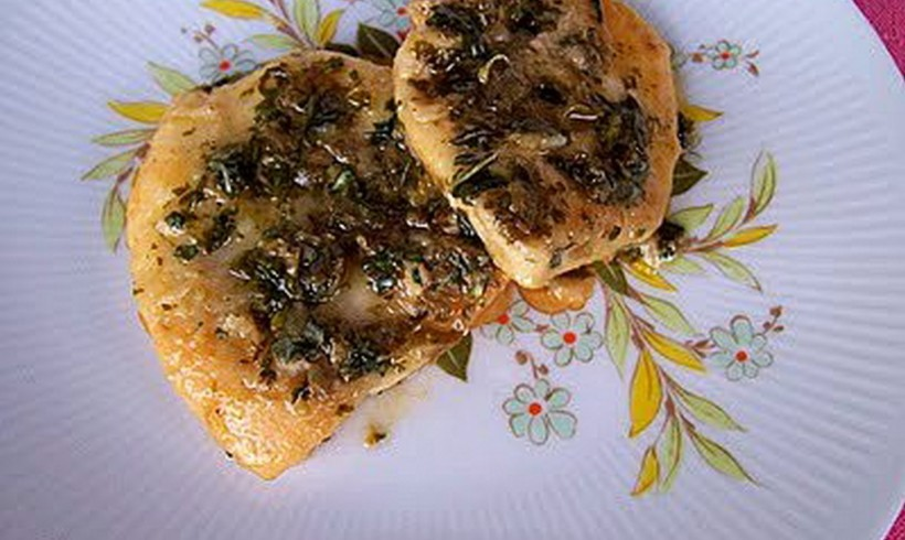 SCALOPPINE DI POLLO AL MARSALA
