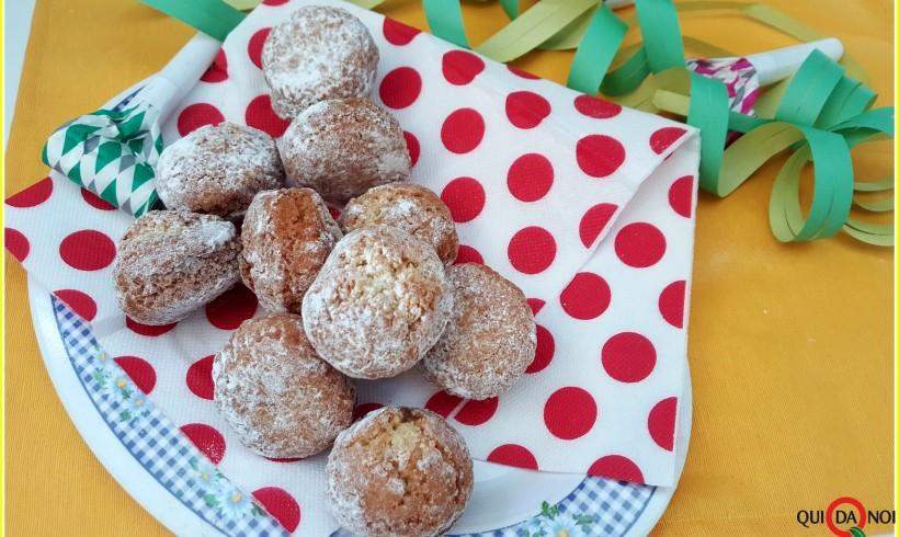 CASTAGNOLE AL FORNO (senza glutine e senza lattosio)