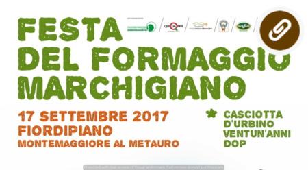 La regina della Festa è la Casciotta d'Urbino D.O.P.!