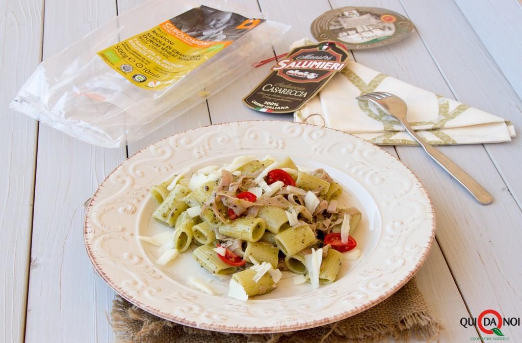 rigatoni pistacchi mortadella casciotta (1)
