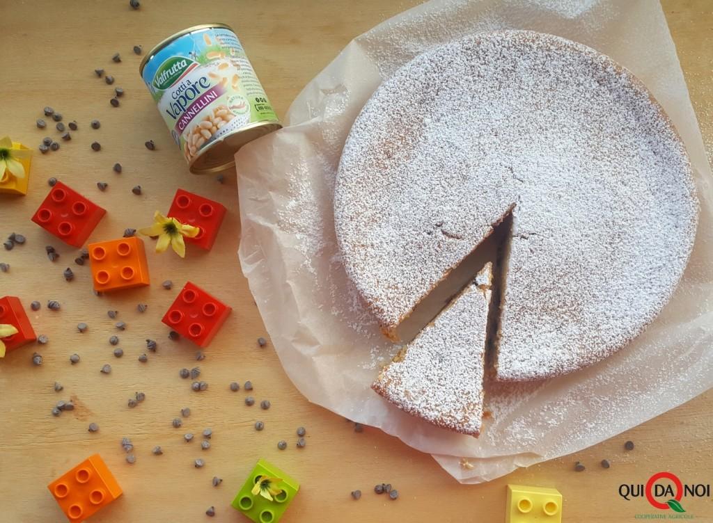 foto 7 torta ai fagioli cannellini OK