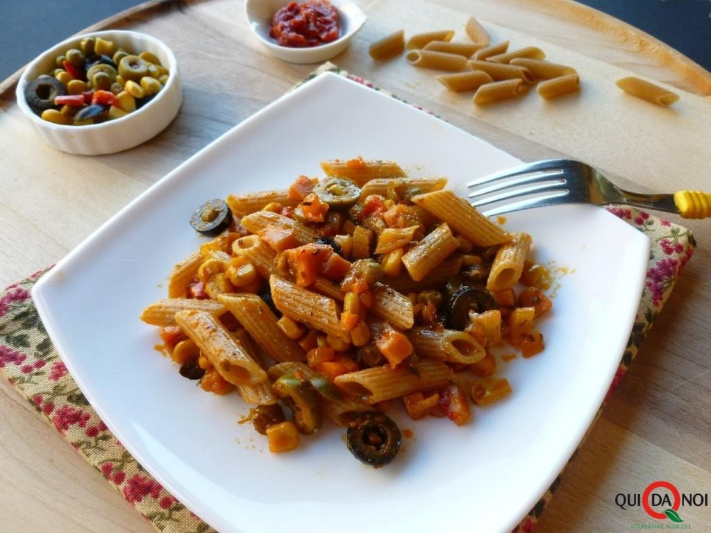 Penne integrali vegetariane 1 -Grassi