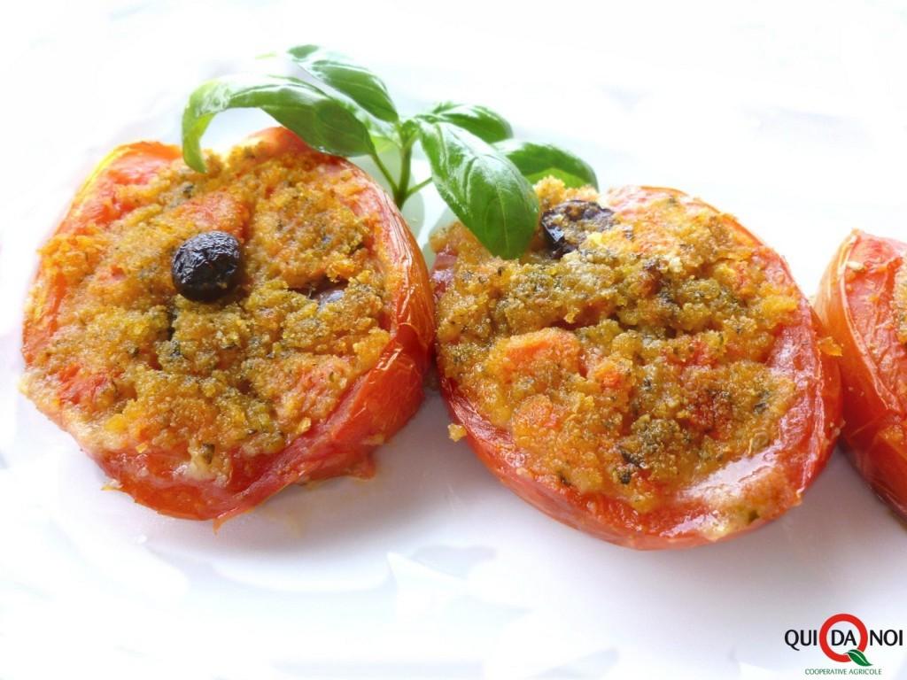 pomodori ripieni alpesto - Grassi