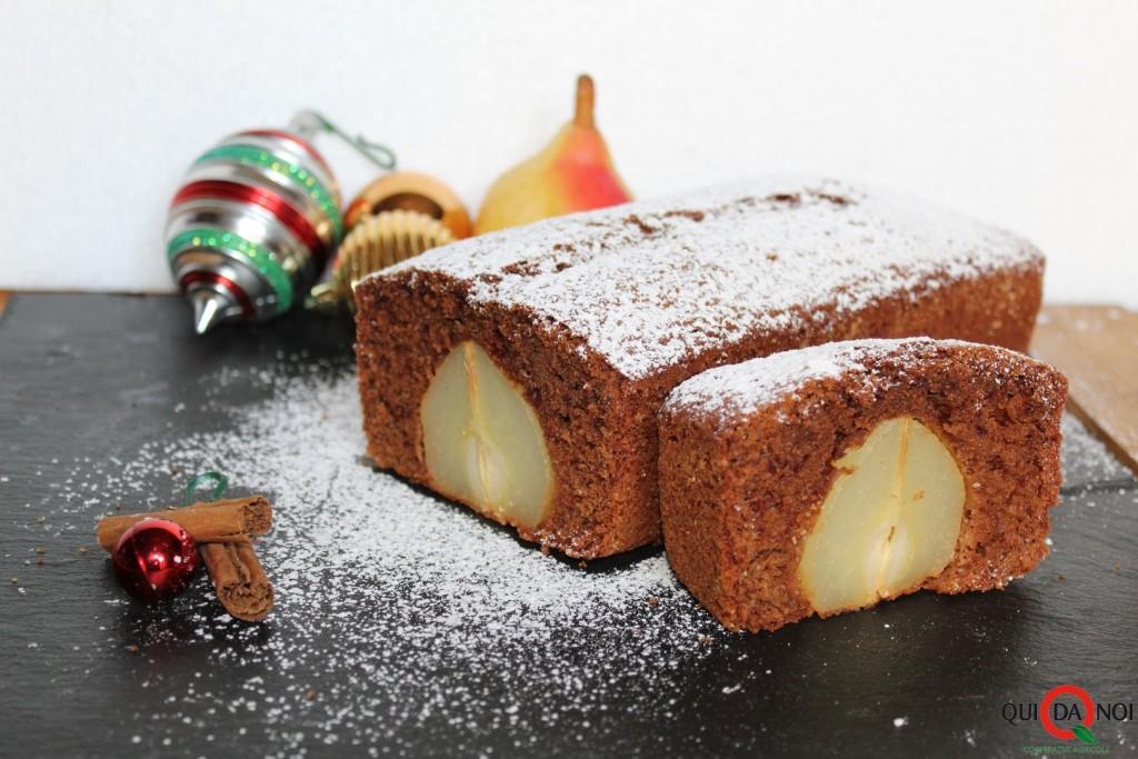 Plumcake natalizio pere e cioccolato_soffio (1)