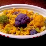 Insalata di miglio con cavolfiori colorati by Daniela Rinaldi