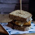 Burger di lupini alla mediterranea