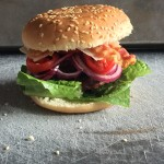 Hamburger con bacon e Parmigiano Reggiano