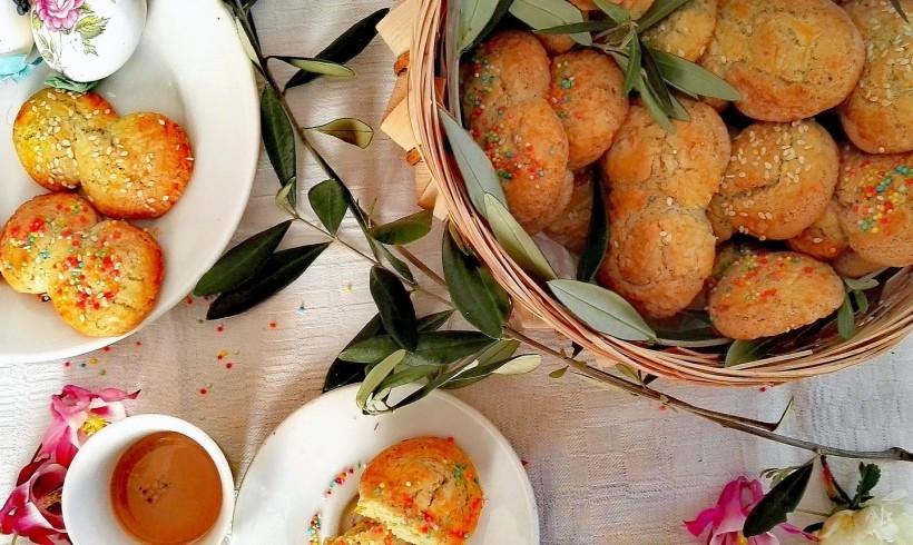 """Koulourakia"", i tipici biscotti greci pasquali"
