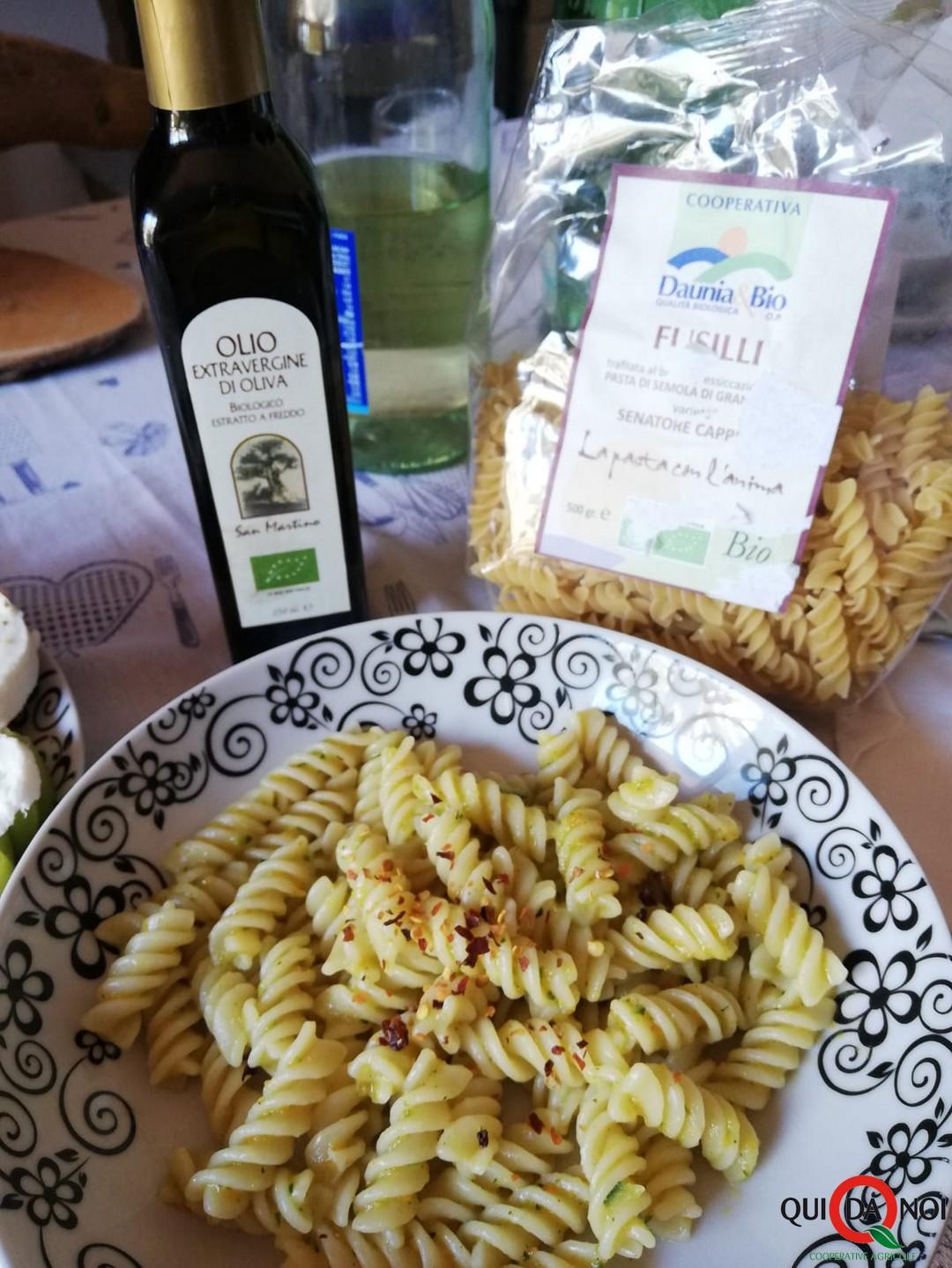 Pasta al sugo piccante di verdure_soffio