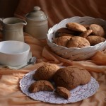 Cupolette di farro monococco al cacao_monica martino