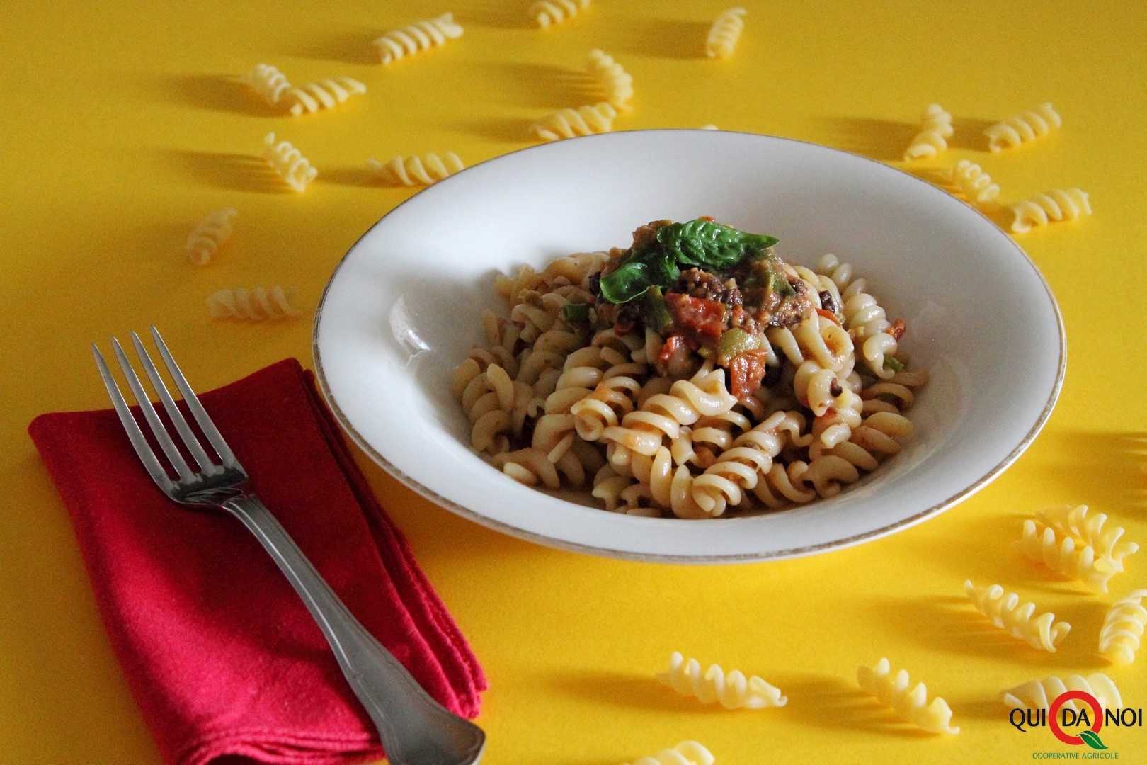 Pasta fredda alle olive velocissima_paola
