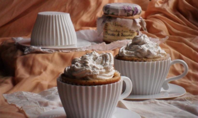 Cupcake con marmellata al chinotto di Savona