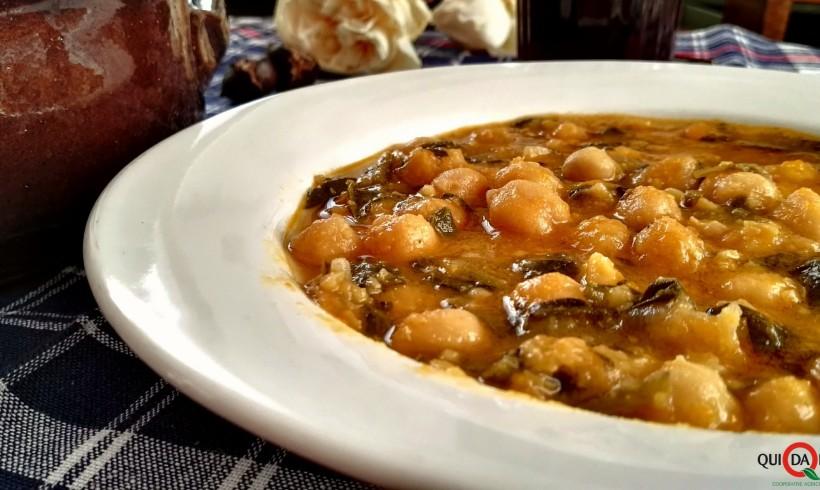 Zuppa di ceci (Suppa de çeixei)