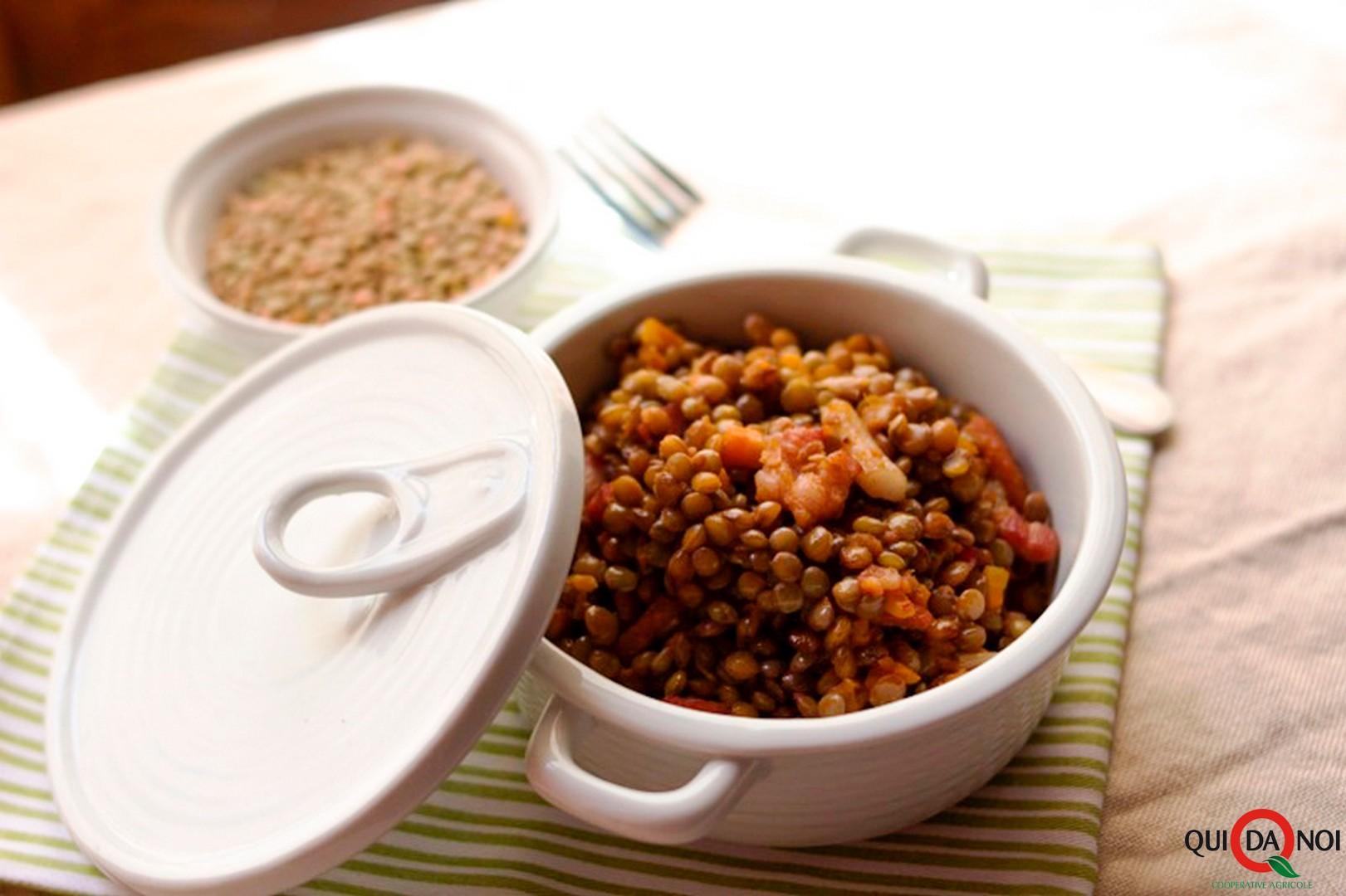lenticchie brasate