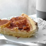 Crostata senza glutine all'arancia