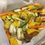 Verdure cotte in forno
