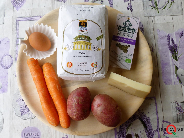 polpette bulgur ingredienti - Grassi