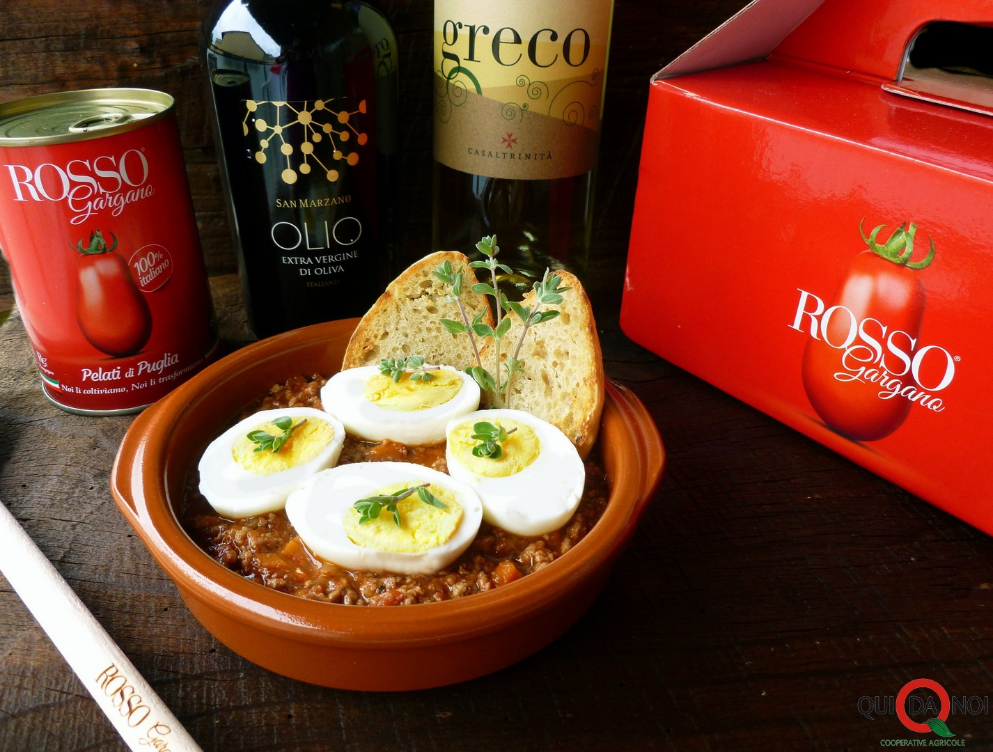 Uova al sugo di Rosso Gargano - Grassi (4)