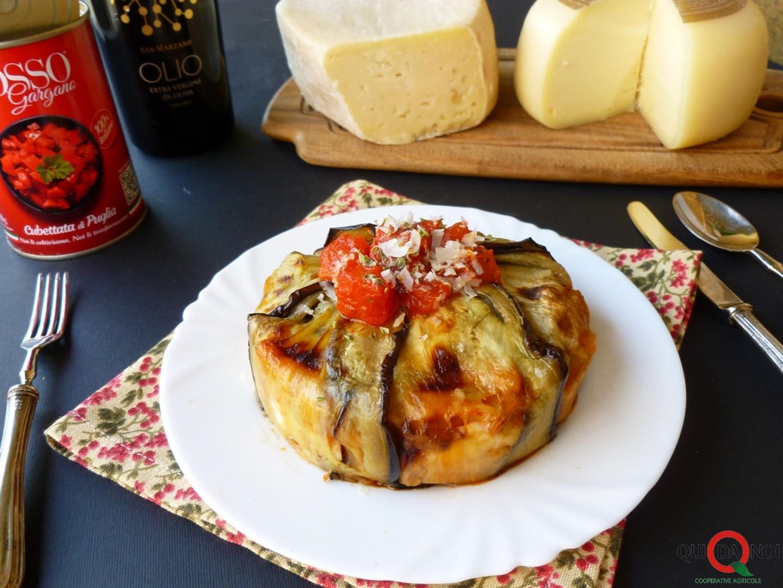 timballo di melanzane casciotta e pecorino- Grassi (1)