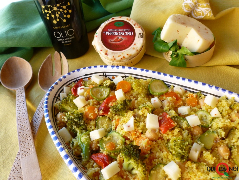 Insalata di cuscus e formaggio al peperoncino- Grassi (2)