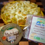 Paccheri ripieni con zucchine e Casciotta d'Urbino