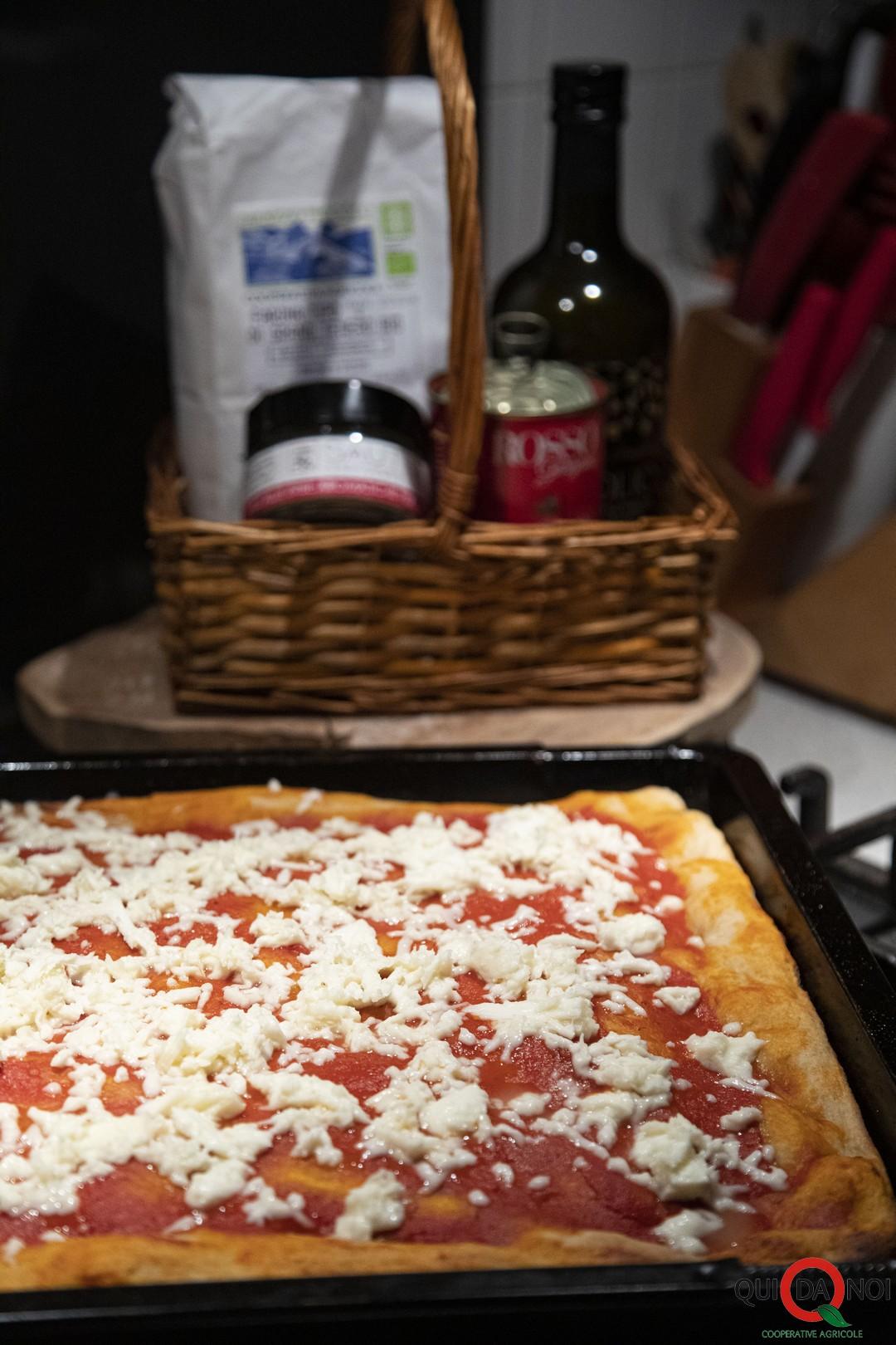la mia pizza in teglia