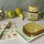 Croque monsieur dolce con pere e formaggio