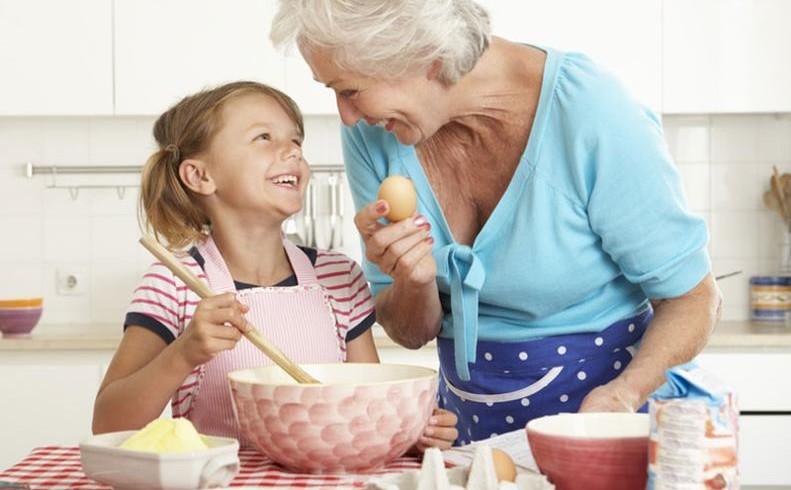 La cucina preferita è quella della nonna