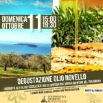 Degustazione dei prodotti della cooperazione agroalimentare del Trasimeno | Domenica 11 ottobre
