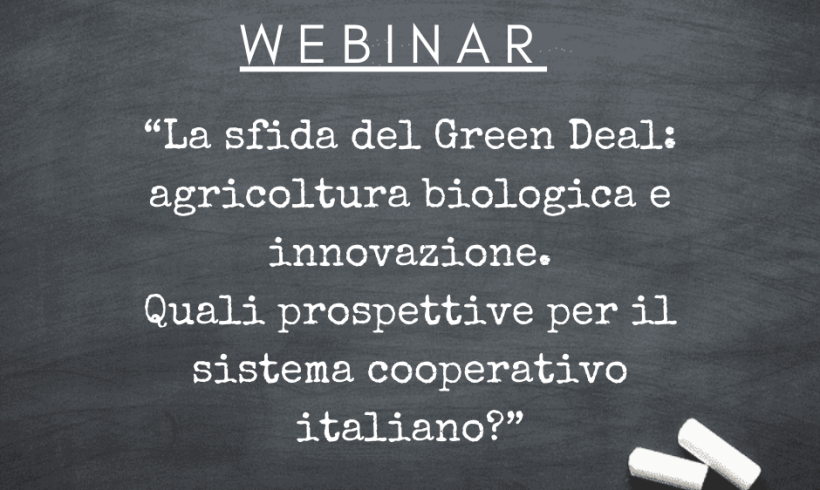 L'agricoltura biologica e la nuova sfida del Green Deal