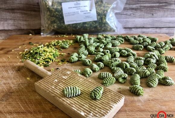 Gnocchi di verza con pepe e patate