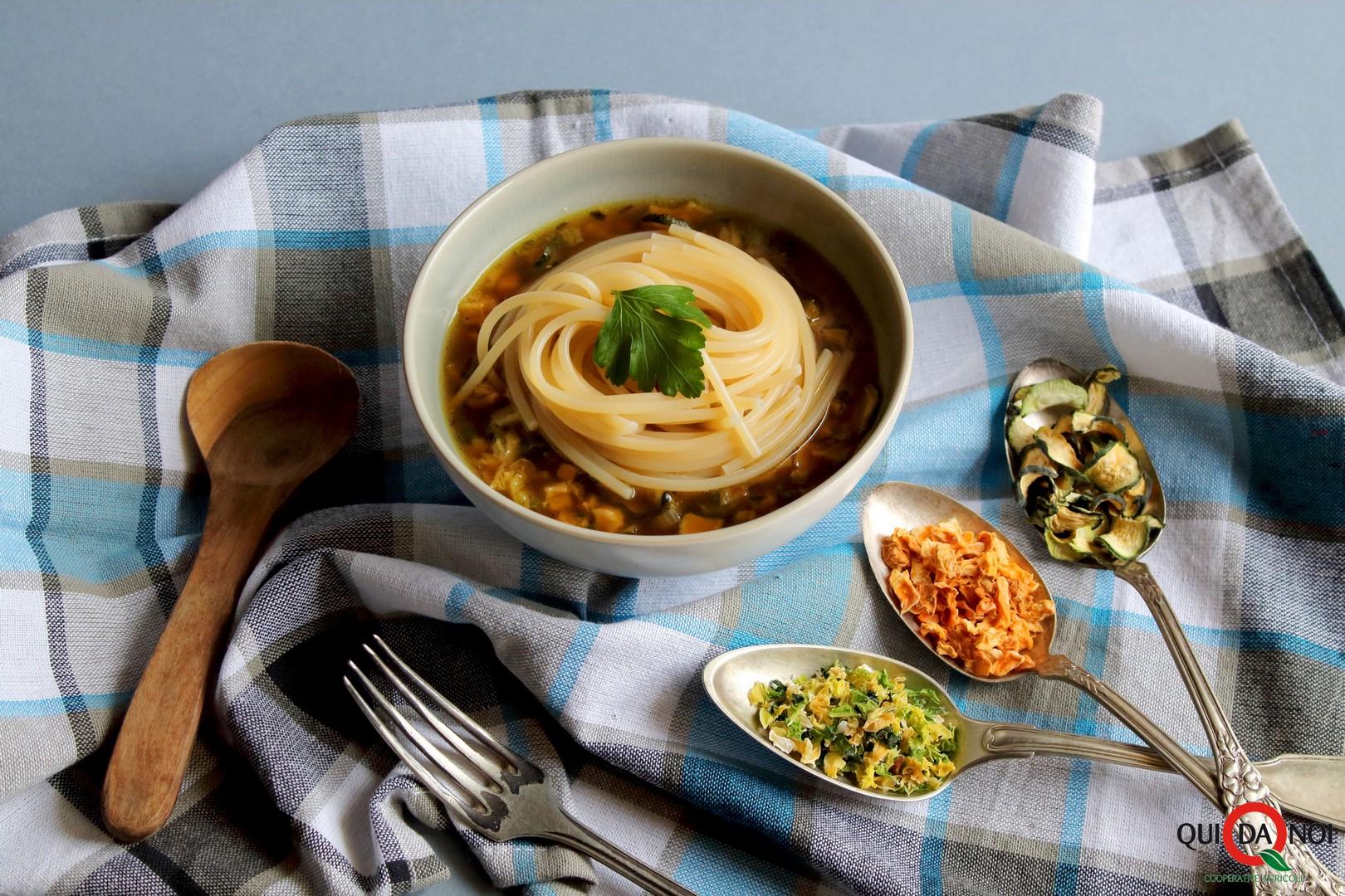 spaghetti zuppa