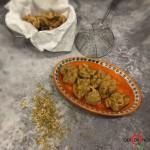 Frittelle di cavolfiore disidratato