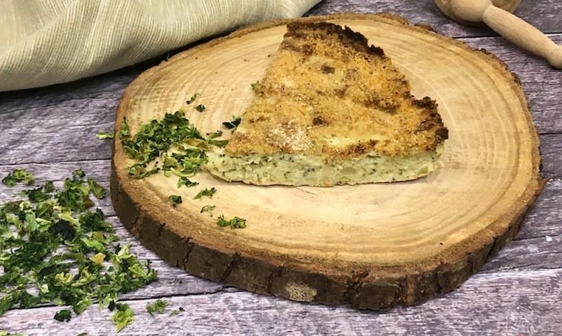 Polpettone di broccolo disidratato e patate