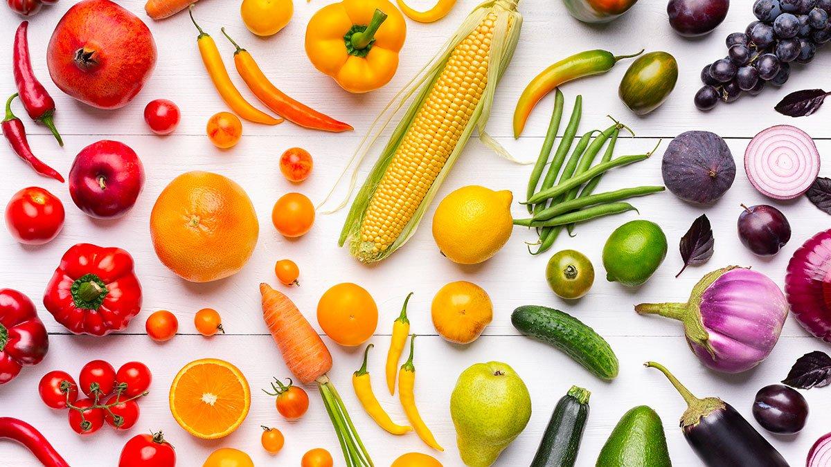colori frutta verdura