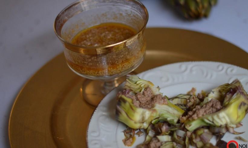 Salsa di foie gras flambata al rum