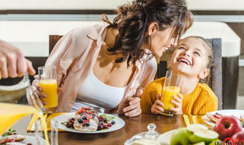 Una colazione in famiglia a tutto colore!