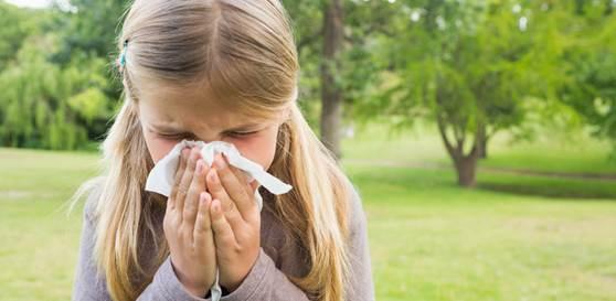L'allergia dei bambini nella primavera del Covid-19