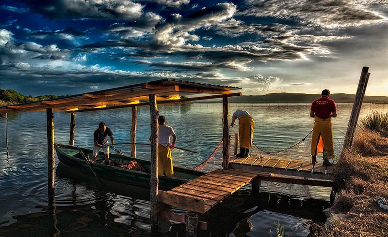 I Pescatori di Orbetello. Dalla laguna alla tavola