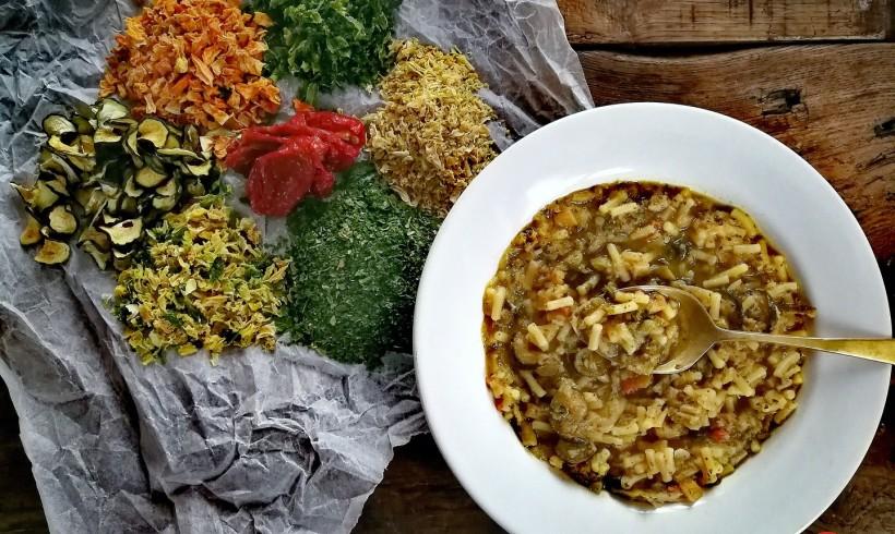 Minestrone genovese con verdure disidratate Farris