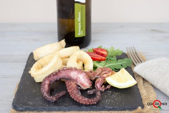 Frittura di calamari e polpo
