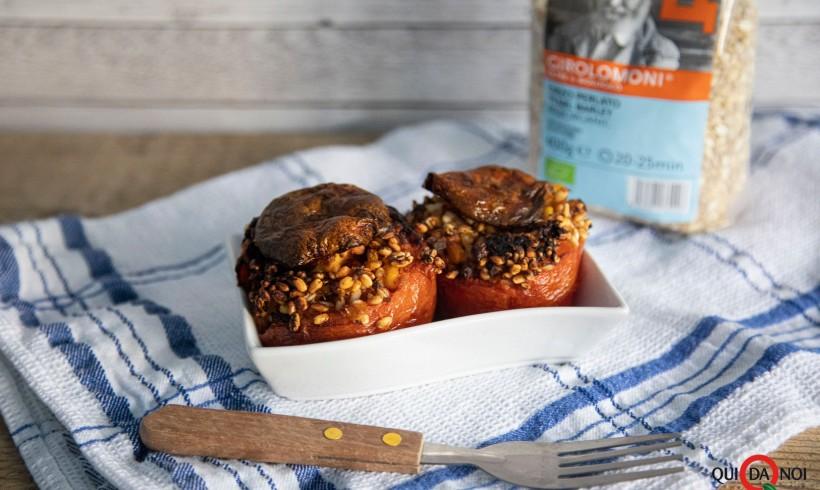 Pomodori con orzo Girolomoni